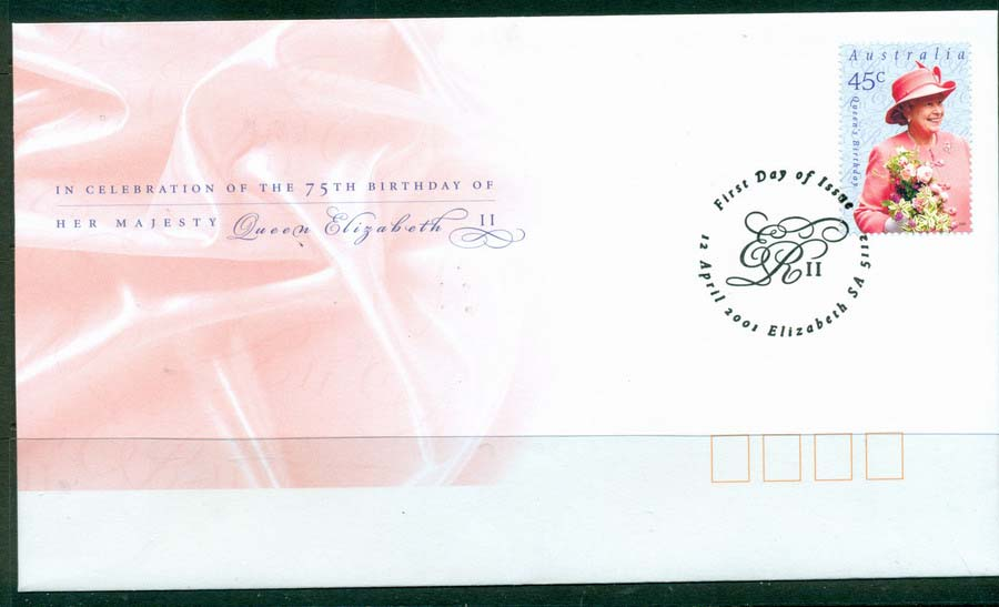 Australia 2001 Queens Birthday FDC Lot19319