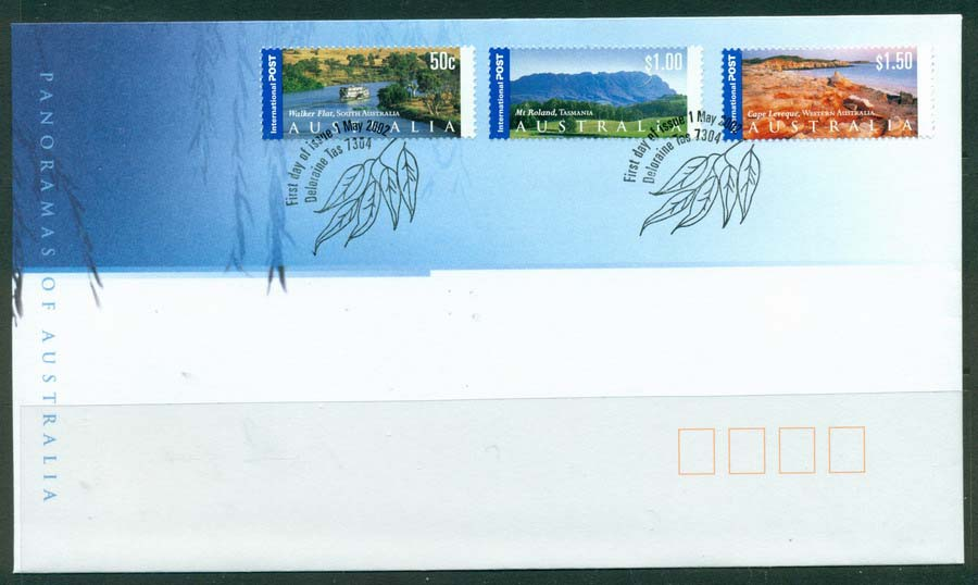 Australia 2002 Internationals FDC Lot19337