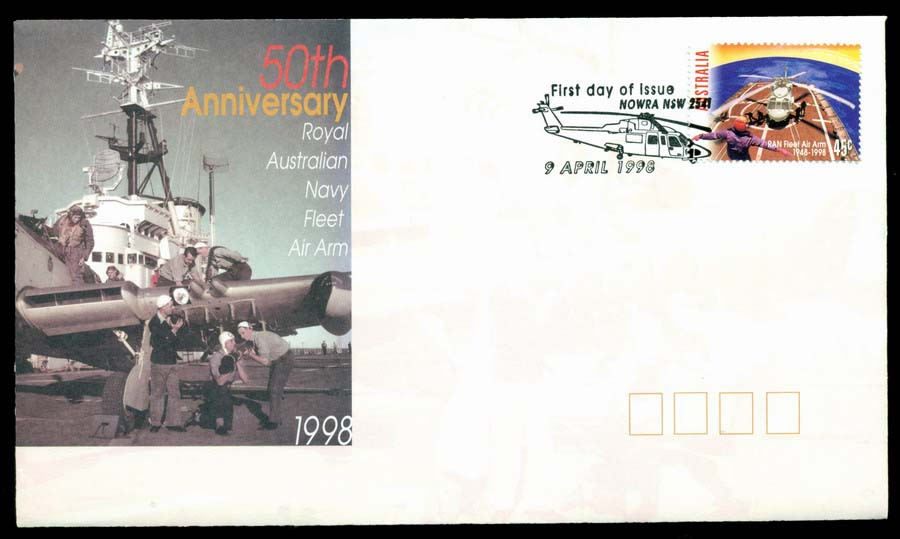Australia 1998 Fleet Air Arm, Nowra FDC Lot19477