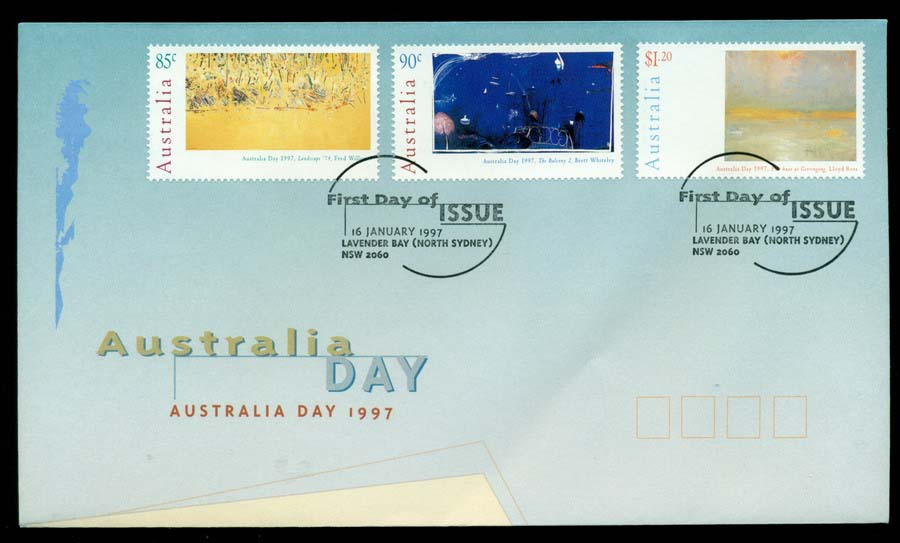 Australia 1997 Australia Day, Lavender Bay FDC Lot19496
