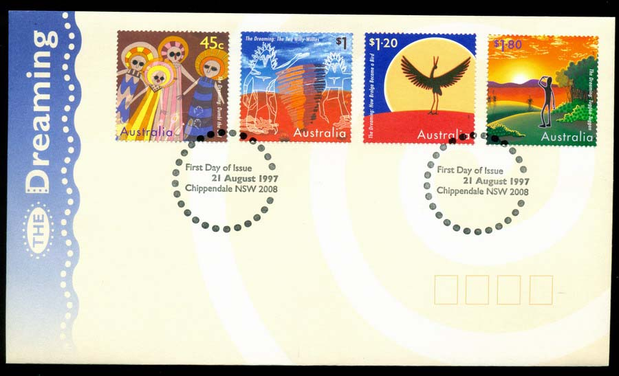 Australia 1997 The Dreamings, Chippendale FDC Lot19513
