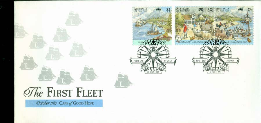 Australia 1987 First Fleet-COGH FDC Lot19797