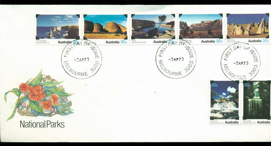 Australia 1979 National Parks FDC Lot20188