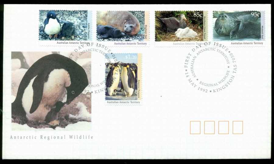 AAT 1992 Wildlife, Kingston FDC Lot20250