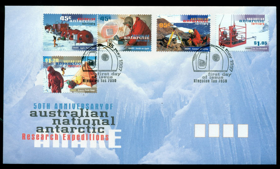 AAT 1997 ANARE, Kingston FDC Lot20258