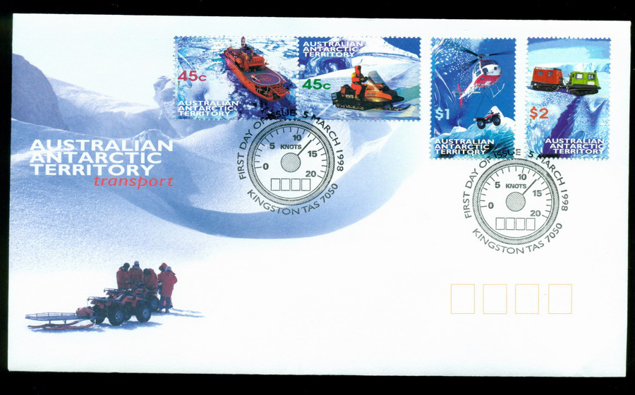 AAT 1998 Transport, Kingston FDC Lot20259