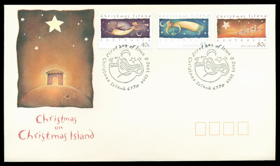Christmas Is 1994 Xmas FDC Lot20272