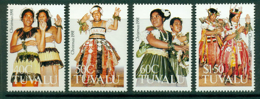 Tuvalu 1991 Costumes MUH Lot20390