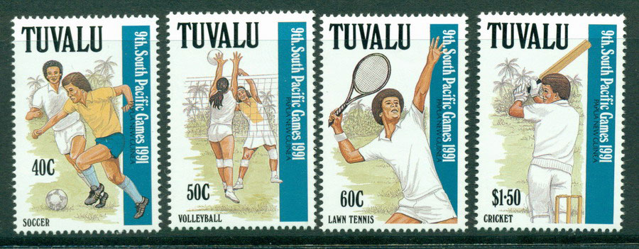 Tuvalu 1991 South Pacific Games MUH Lot20420