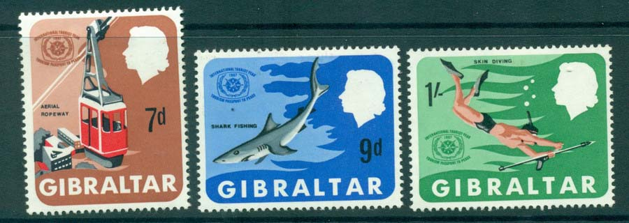 Gibraltar 1967 ITY MH Lot20659