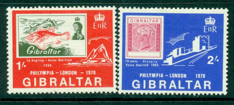Gibraltar 1970 Phylmpia MH Lot20672