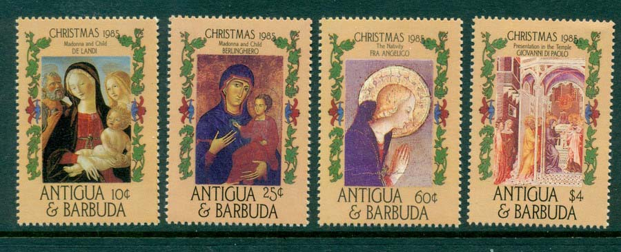 Antigua & Barbuda 1985 Xmas MUH Lot20906