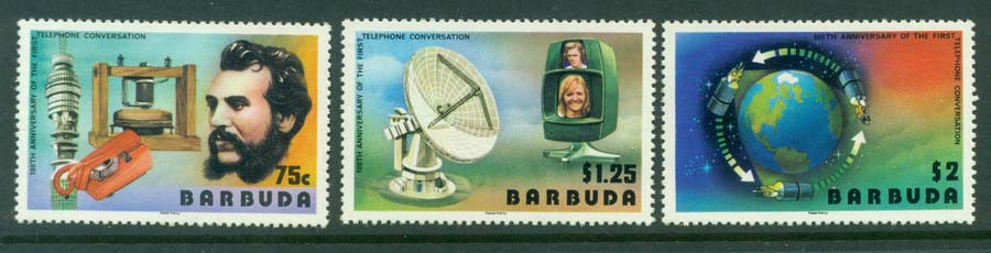 Barbuda 1977 Communications MUH Lot20911