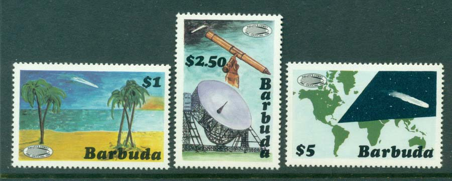 Barbuda 1986 Halleys Comet MUH Lot20915