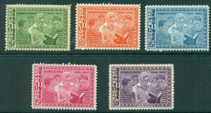 Guinee 1964 Human Rights Rooseveldt MUH Lot20992