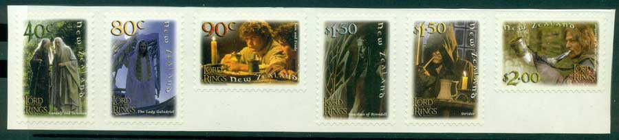 New Zealand 2001 Fellowship of the Ring P&S MUH Lot21359