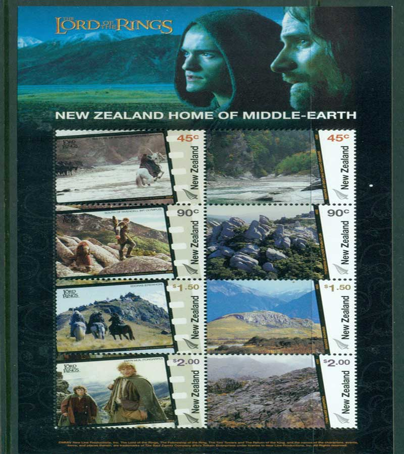 New Zealand 2004 Middle Earth MS MUH Lot21373