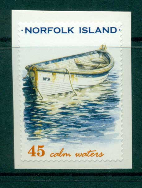 Norfolk Is 2001 45c Boats P&S MUH (lot21729)