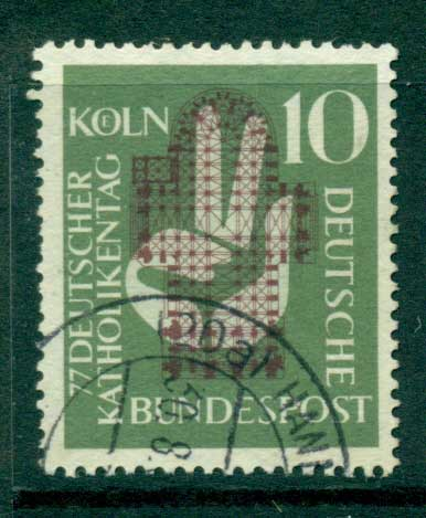 Germany 1965 German Catholics FU (lot22401)