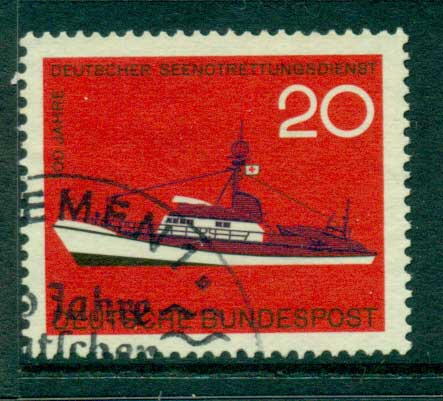 Germany 1965 Rescue Ship FU (lot22486)
