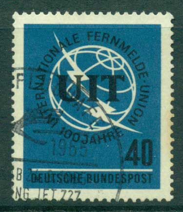 Germany 1965 ITU FU (lot22487)
