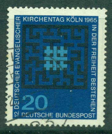 Germany 1965 Protestants FU (lot22489)