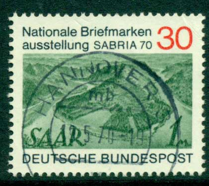 Germany 1970 SABRIA Stamp Ex FU (lot22533)