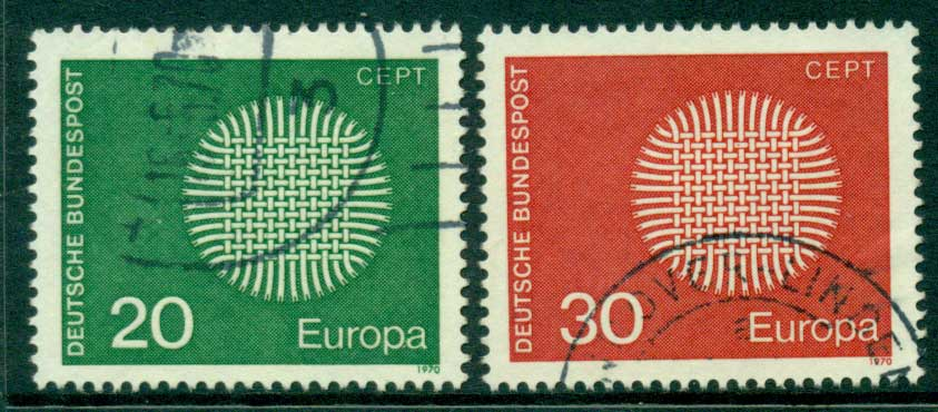 Germany 1970 Europa FU (lot22534)