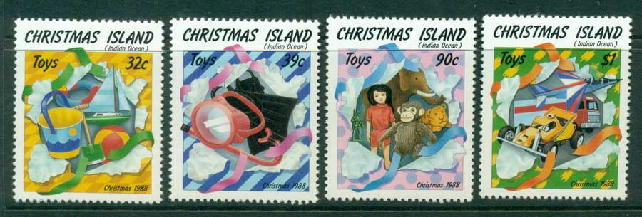 Christmas Is 1988 Xmas MUH (lot23366)