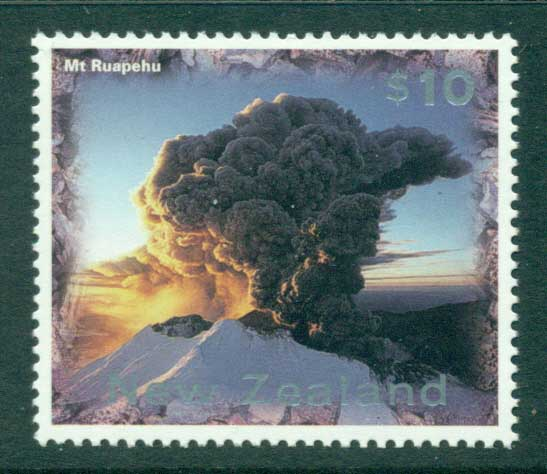 New Zealand 1997 Mt Ruapehu MUH (lot23410)