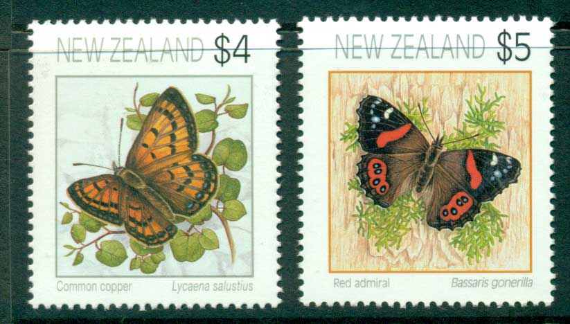 New Zealand 1995 Butterfly Defins MUH (lot23412)