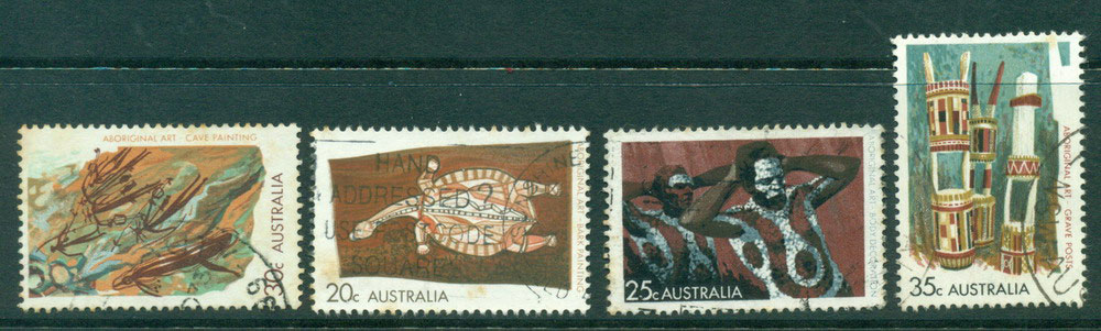 Australia 1971 Aboriginal Art FU Lot23628