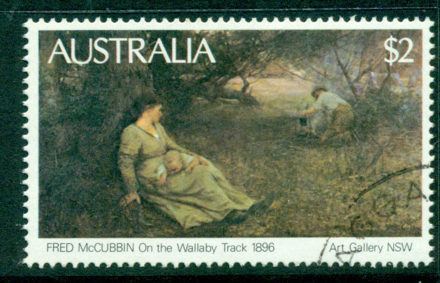 Australia 1981 $2 painting CTO Lot23679