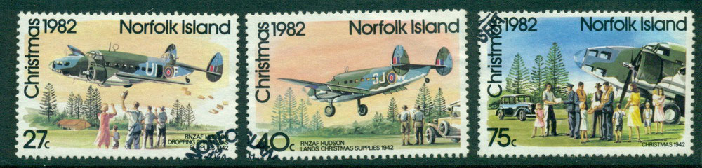 Norfolk Is 1982 Xmas FU Lot24031