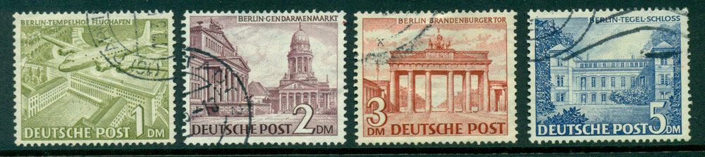 Germany Berlin 1949 1m-5m VFU Lot24080