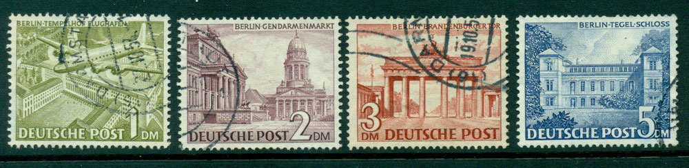 Germany Berlin 1949 1m-5m VFU Lot24081