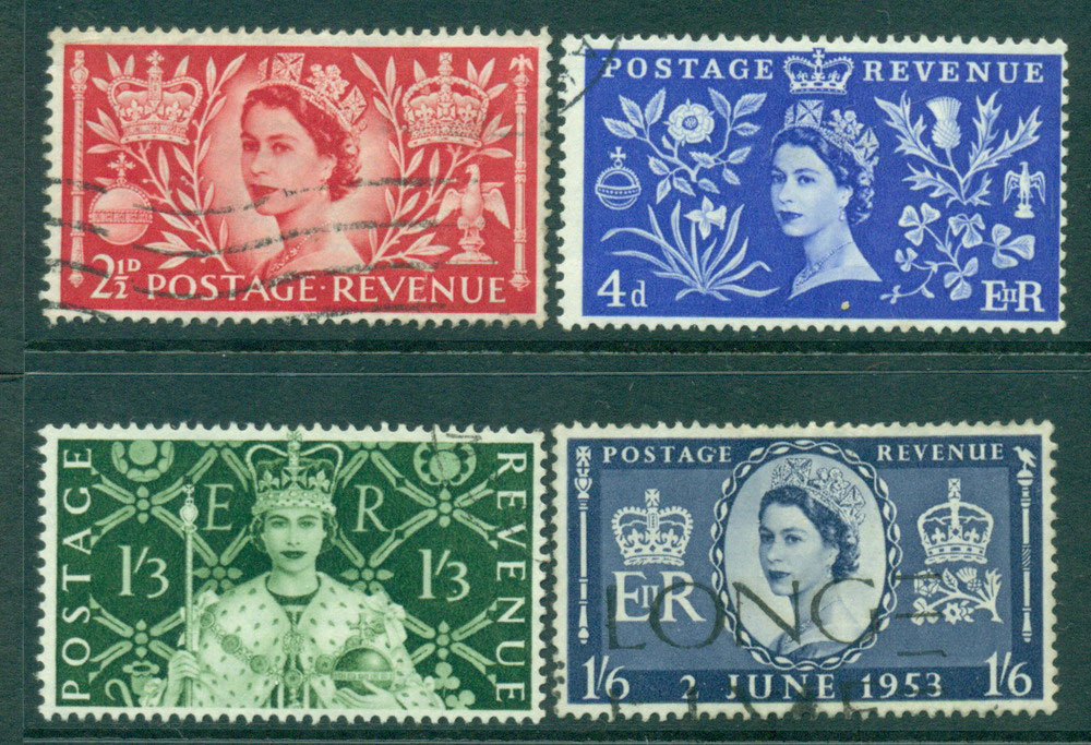 GB 1953 Coronation FU Lot24100