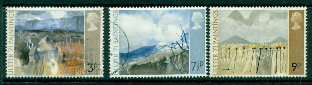 GB 1971 Ulster Festival Paintings FU Lot24161