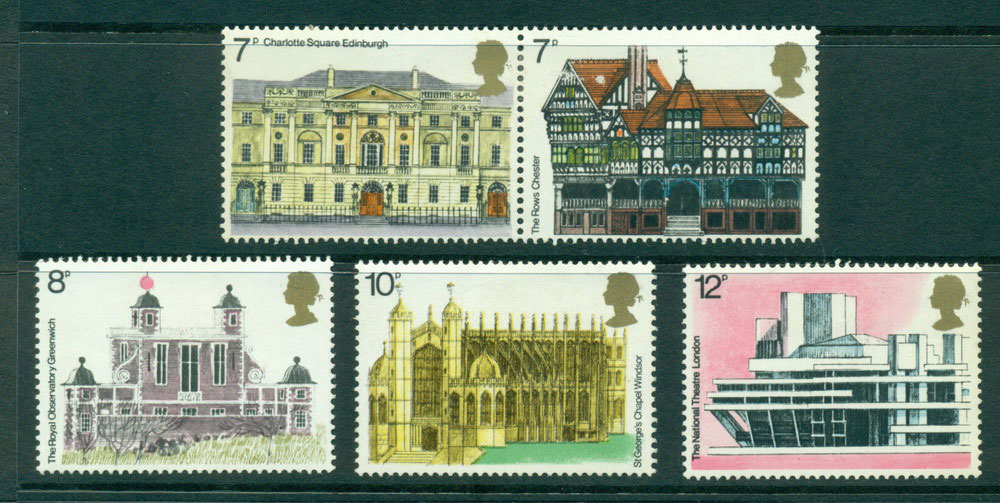 GB 1975 Architectural Heritage Year FU Lot24189