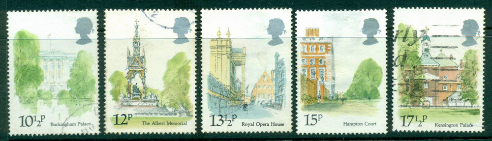 GB 1980 Palaces & Monuments FU Lot24225