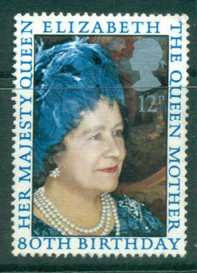 GB 1980 Queen Mother birthday FU Lot24228