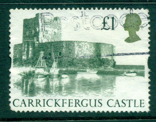 GB 1992 �1 Castle Syncpoated FU Lot24326