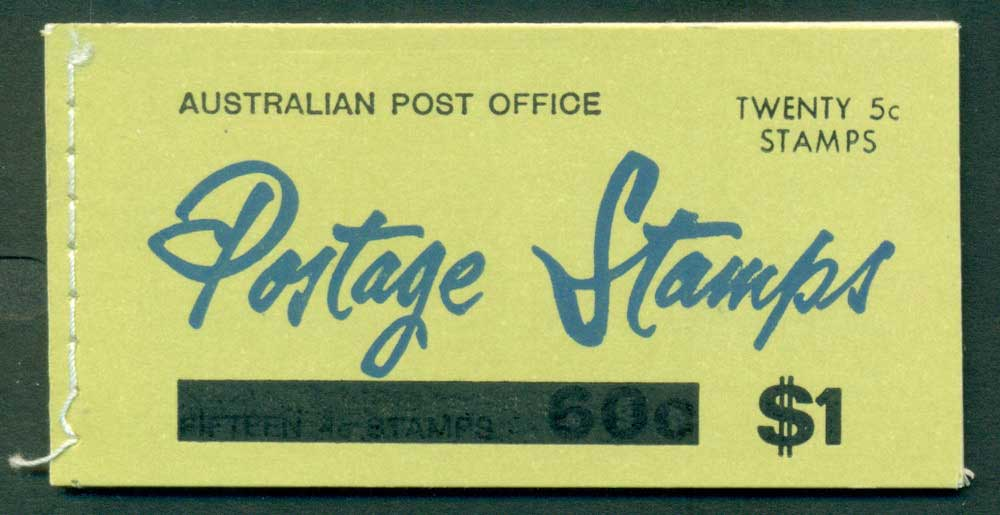 Australia 1967 Booklet $1 bar B109Bd Ed. V67/1 CTO Melbourne GPO Lot25914