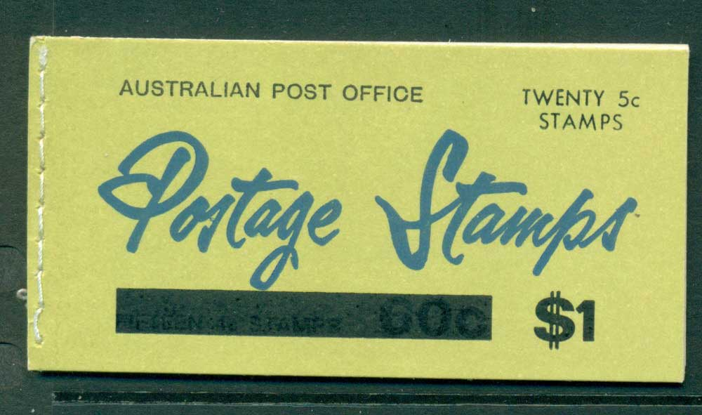 Australia 1967 Booklet $1 bar B107Bd Ed. V67/1 CTO Melbourne GPO Lot25915