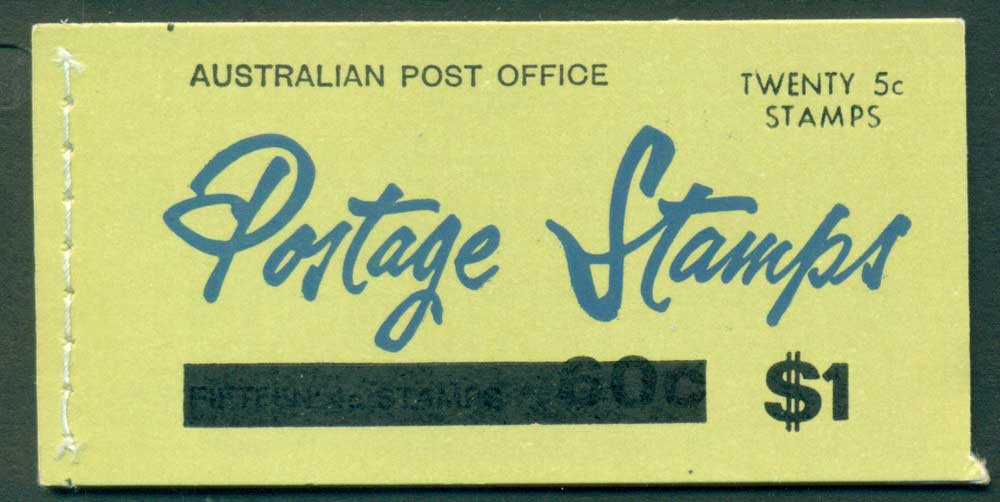 Australia 1967 Booklet $1 bar B110Be Ed. V67/1 Mint Lot25920