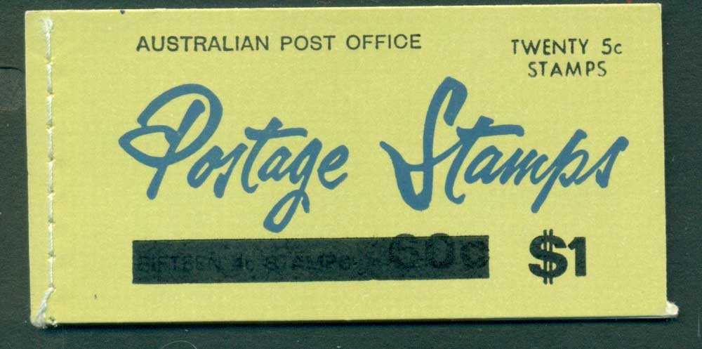 Australia 1967 Booklet $1 bar B110Be Ed. V67/1 CTO Melbourne GPO Lot25921
