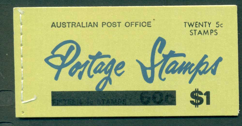 Australia 1967 Booklet $1 bar B110Bd Ed. V67/1 CTO Melbourne GPO Lot25923