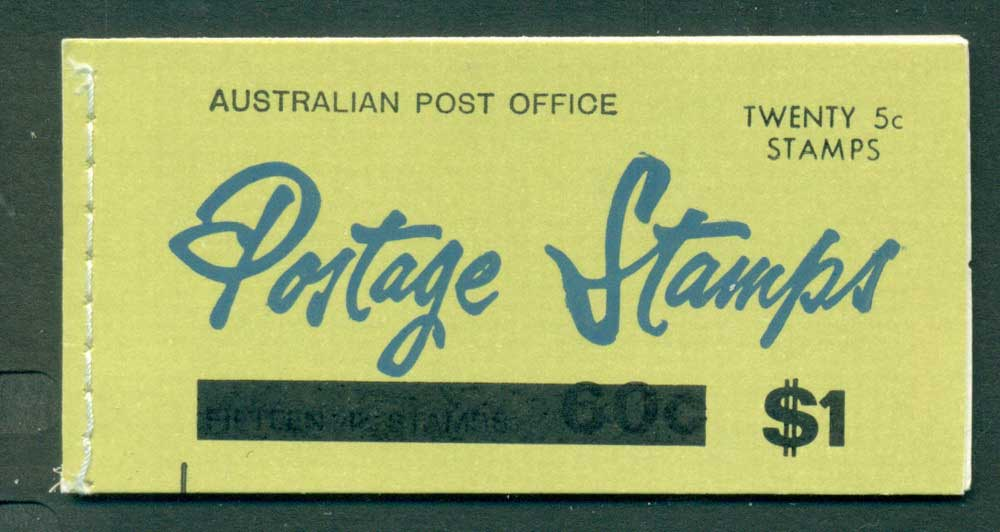 Australia 1967 Booklet $1 bar B112Be Ed. V67/1 CTO Melbourne GPO Lot25943