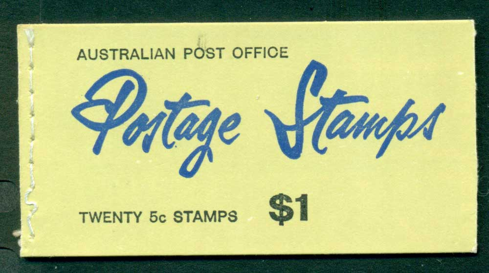 Australia 1967 Booklet $1 5c on 4c B122Bf Ed. V67/3 CTO Melbourne GPO Lot25947
