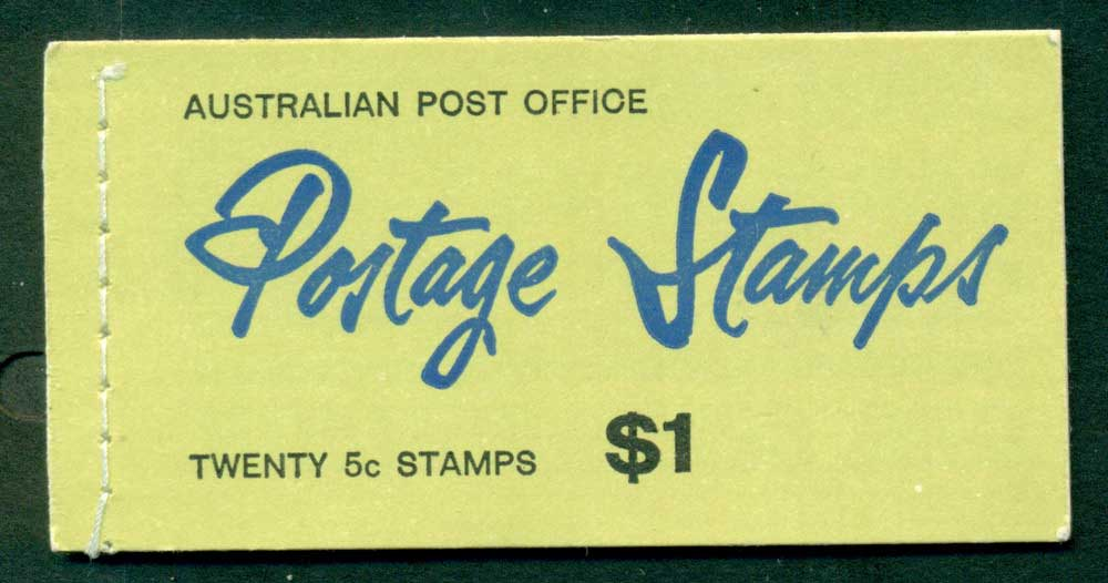 Australia 1967 Booklet $1 5c on 4c B122Bf Ed. V67/3 CTO Melbourne GPO Lot25950